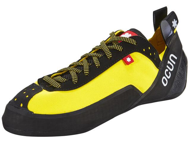 Ocun Crest LU - Chaussures d'escalade - jaune/noir